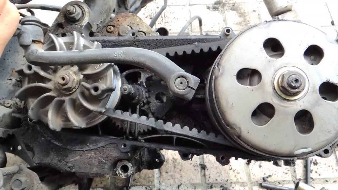 摩托車起動桿動作 - YouTube