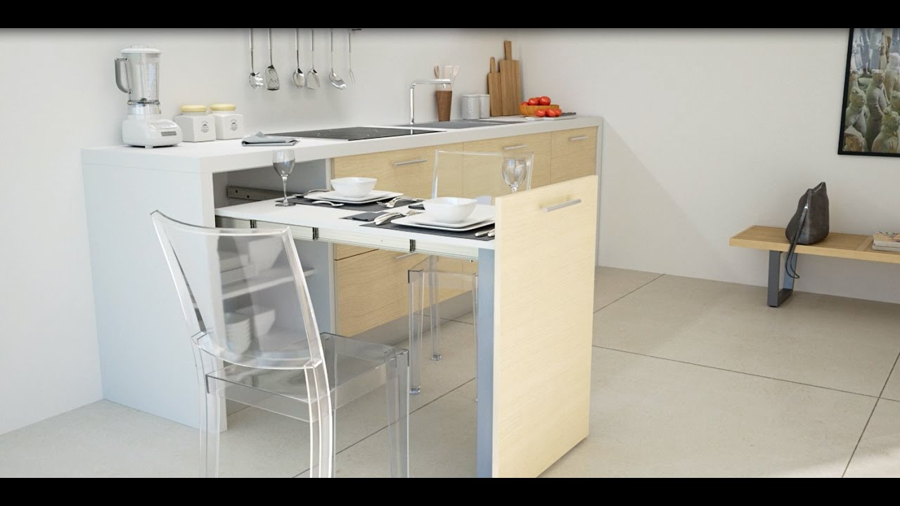 evolution pull out kitchen table | box15 - youtube