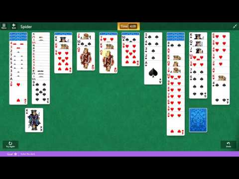 Microsoft Solitaire Collection - Spider - February 16 2017