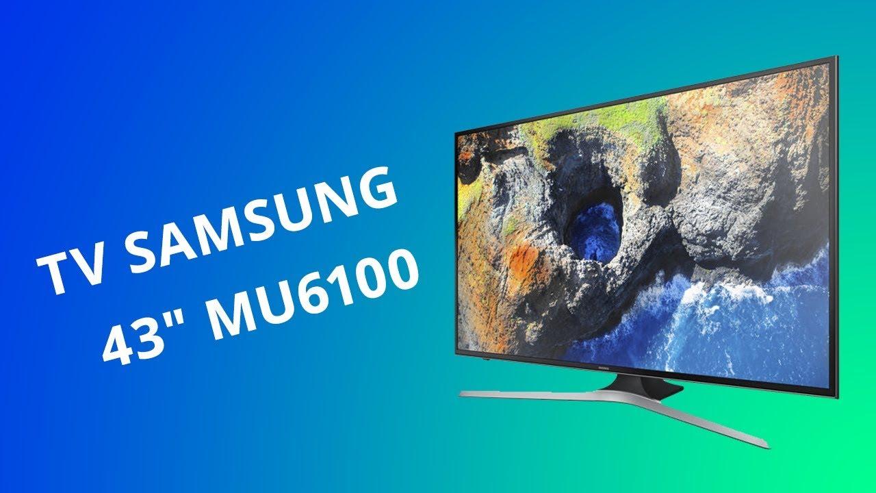 TV Samsung 4K MU6100: um modelo de entrada que não é tão caro