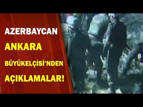 Azerbaycan Ankara Büyükelçisi İbrahimoğlu'ndan Ermenistan Saldırısı İle İlgili Açıklamalar / A Haber