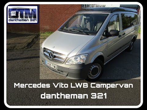 Brand New Mercedes Vito Campervan Conversion Full Tour Nu Venture Motorhomes