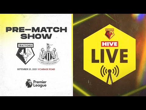 Watford v Newcastle United | Hive Live Pre-Match Show | Premier League