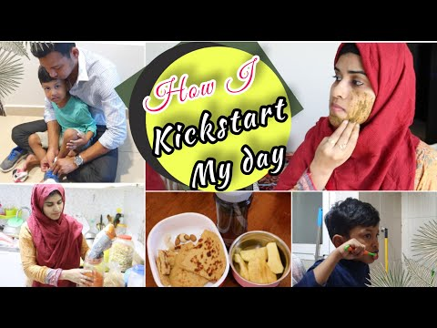 How I Kickstart My Day As A Housewife & Mom ~ Skin Care Tips ~ Day In My Life ~ Dubai Tamil Vlog