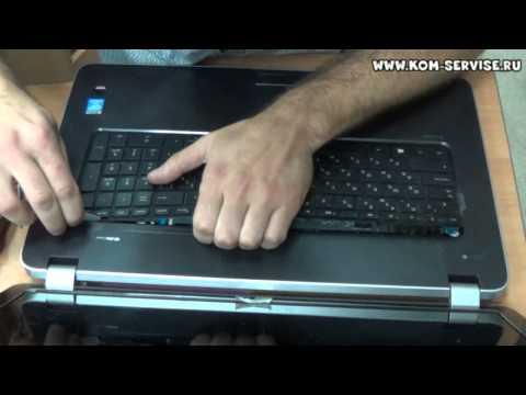 Замена клавиатуры ноутбука HP 17-E / 15-E серий, на примере 17-e060sr.