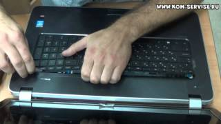 Замена клавиатуры ноутбука HP 17-E / 15-E серий, на примере 17-e060sr.(В этой видео инструкции показано как самому поменять клаву ноутбука Хьюлет пакард НР павилион 17-е / 15-е...., 2014-08-08T17:10:04.000Z)