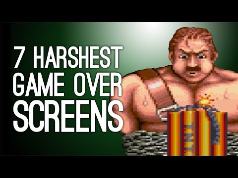 The 7 Harshest Continue Screens in Arcade Game History