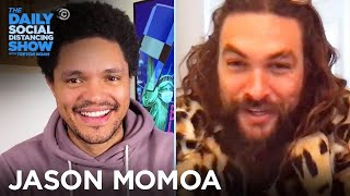"Jason Momoa - Quarantine Life & Lifting Native Voices in ""Gather"" 