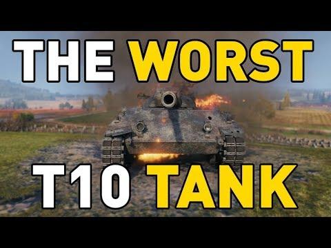 amazone nieuwe stijl fantastische besparingen The Worst T10 Tank in World of Tanks