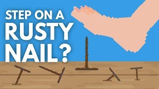 What Happens When You Step On A Rusty Nail? - Dear Blocko #13
