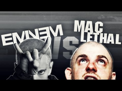 Who Is Faster? EMINEM vs MAC LETHAL