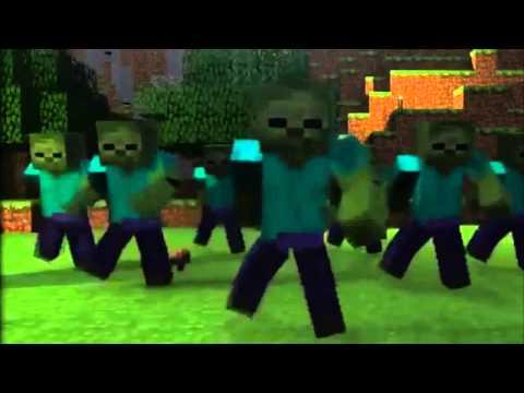 [3D] GANGNAM STYLE en MINECRAFT PSY Baile Animacion Parodia thumbnail