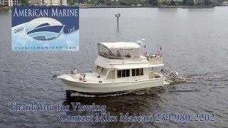2004 40' Mainship 400 Trawler Cruising By American Marine