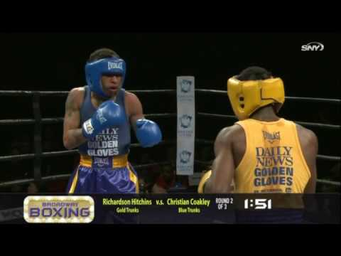 Richardson Hitchins 2016 Daily News Golden Gloves