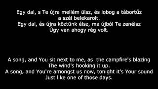 Emberek- Tábortűz (People- Campfire) English lyrics