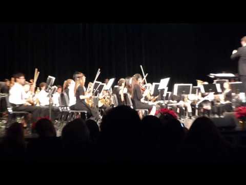 Christmas Medley - Santa Clara High School Orchestra & Symphonic Band