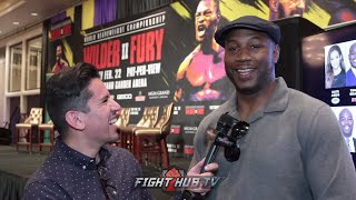 "Gambar cover LENNOX LEWIS ""JOSHUA IS THE 3RD BEST HEAVYWEIGHT IN THE WORLD"" 