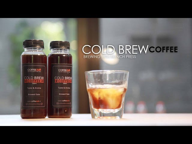 How to Make Cold Brew Coffee [No Music]