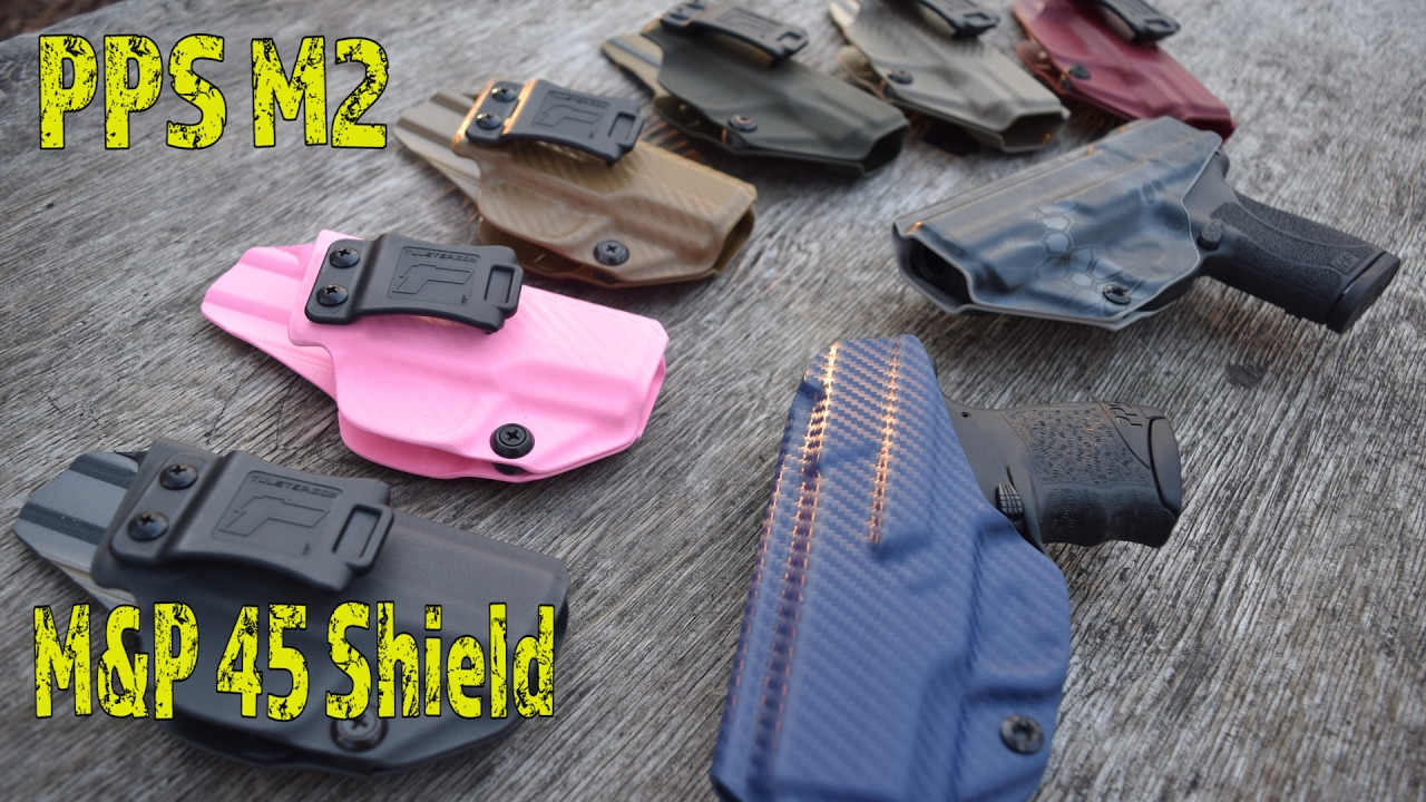 NEW!! Tulster Holster For PPS M2 & 45 Shield   The Best Holster Just Got  Better!