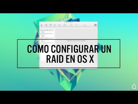 Configurar un RAID en OS X, una opción que da mucho juego