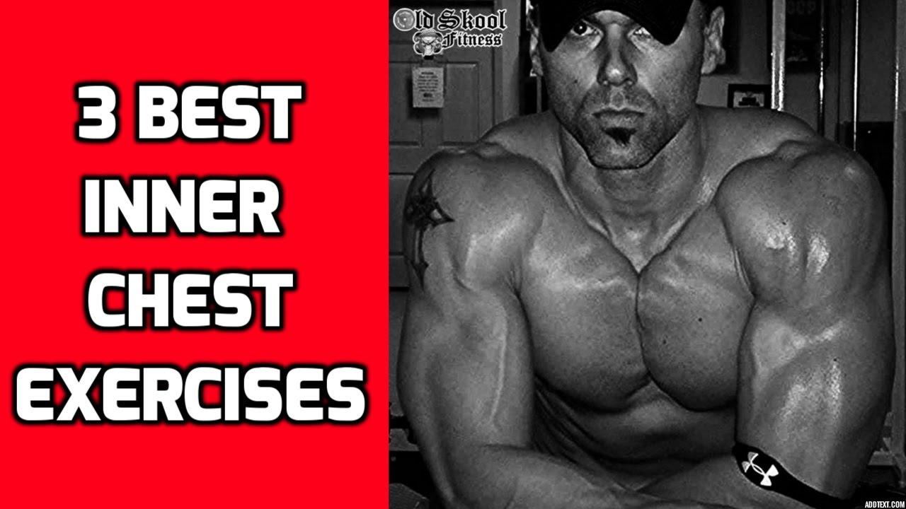 Inner Chest Workout - 3 Best Inner Chest Exercises for Mass - YouTube