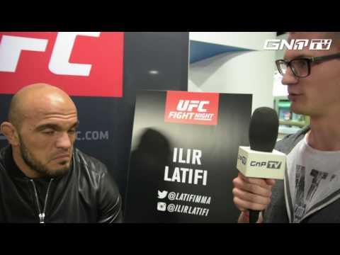 Ilir Latifi talks fight against Ryan Bader at UFC Hamburg