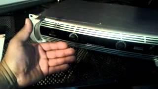 Behringer nu6000 amp review