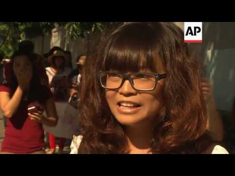 Burmese in Thailand vote ahead of Nov 8 polls