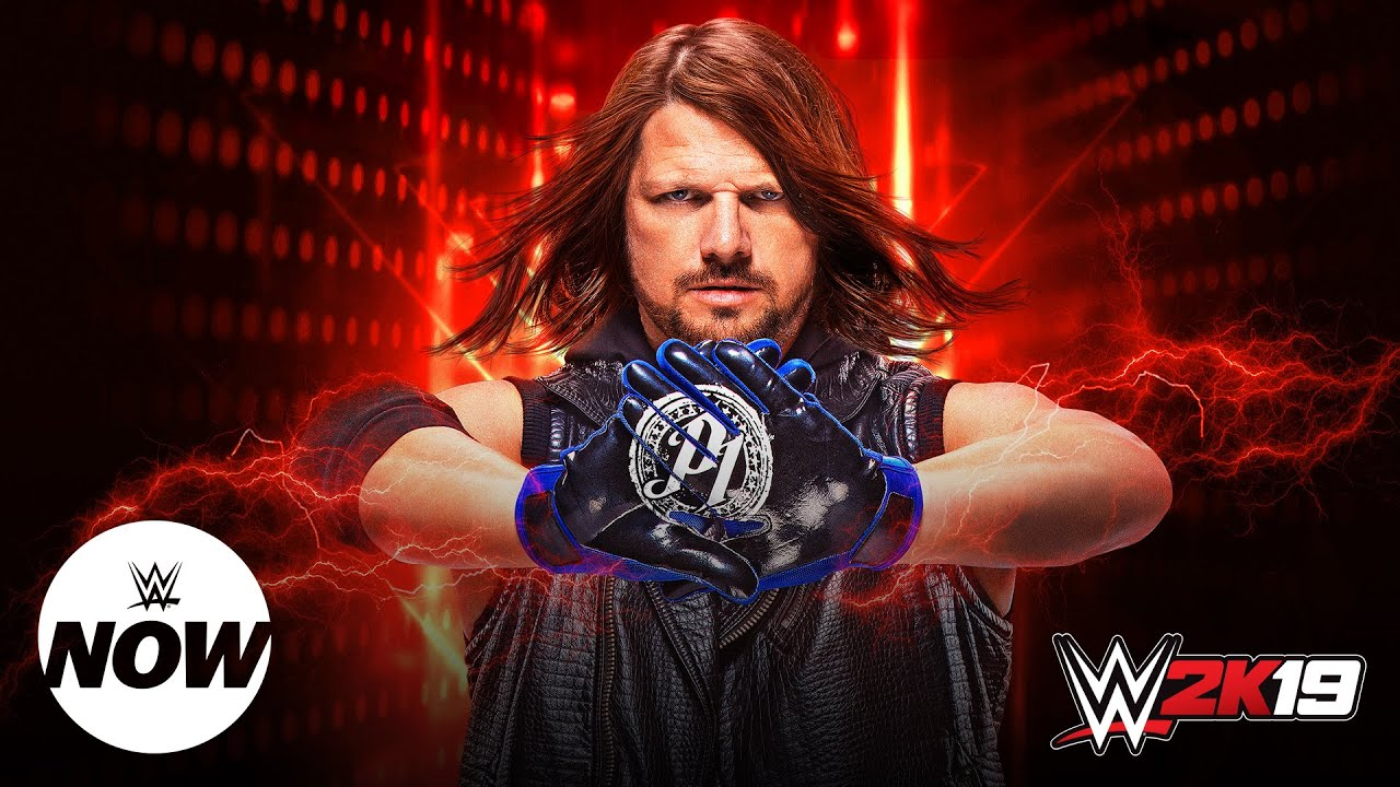 WWE News: AJ Styles is the Cover Athlete on the WWE 2K19