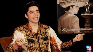 Alex Fernandez habla del reto de alcanzar el éxito siendo hijo de Alejandro y nieto d Vicente Fer..