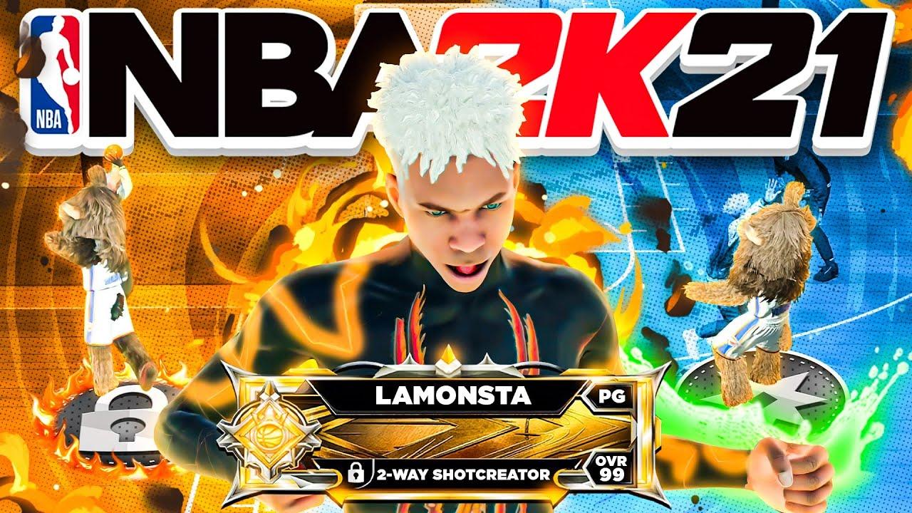 *NEW* LEGEND 2-WAY SHOTCREATOR IS A GLITCH ON NBA2K21
