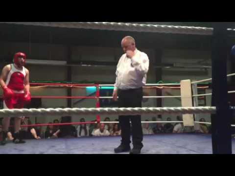 20 second Knockout - Irish Amateur Boxing at National Stadium Dublin.