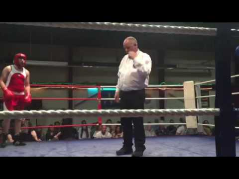 20 Second Knockout - Irish Amateur Boxing At National Stadium Dublin.
