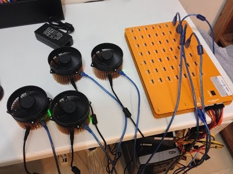 How To Setup Multiple Gridseed Infinity ASIC Scrypt Miners Using Bfgminer