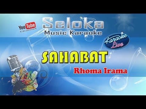 Rhoma Irama - Sahabat | Karaoke musik Version Keyboard + Lirik tanpa vokal