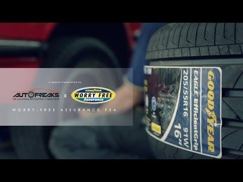 Autofreaks X Goodyear - Tyre Safety Tips