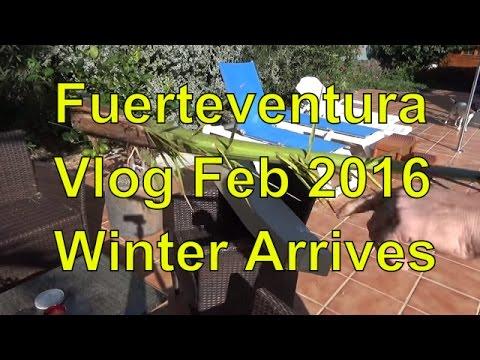 Fuerteventura Vlog February 2016 - Winter In Fuerteventura