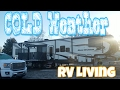RV Living in Cold Weather | 48. Road Warrior Life | Full Time RV