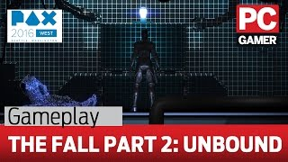 The Fall Part 2: Unbound gameplay - robot butlers and pretty human corpses