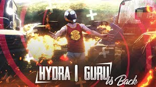 🔴PUBG MOBILE LIVE : HYDRA GURU IS BACK  | GAMING GURU