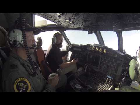 Flying a P3 Orion.