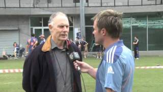 Greg Chappell chats about his new role
