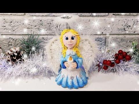 Как сделать новогоднего (рождественского) ангела своими руками. Мастер-класс.DIY.