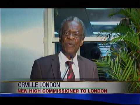 Former THA Chief Secretary Orville London Is High Commissioner