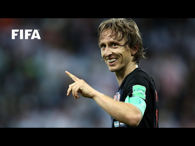 Luka Modric goal vs Argentina | ALL THE ANGLES | 2018 FIFA World Cup