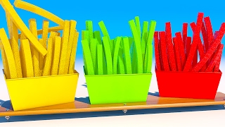 Learning Colors with 3D French Fries