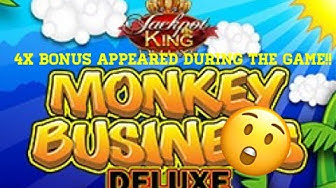 Coral Online !! MONKEY BUSINESS DELUXE !! Lots Of Free Spins.🤪