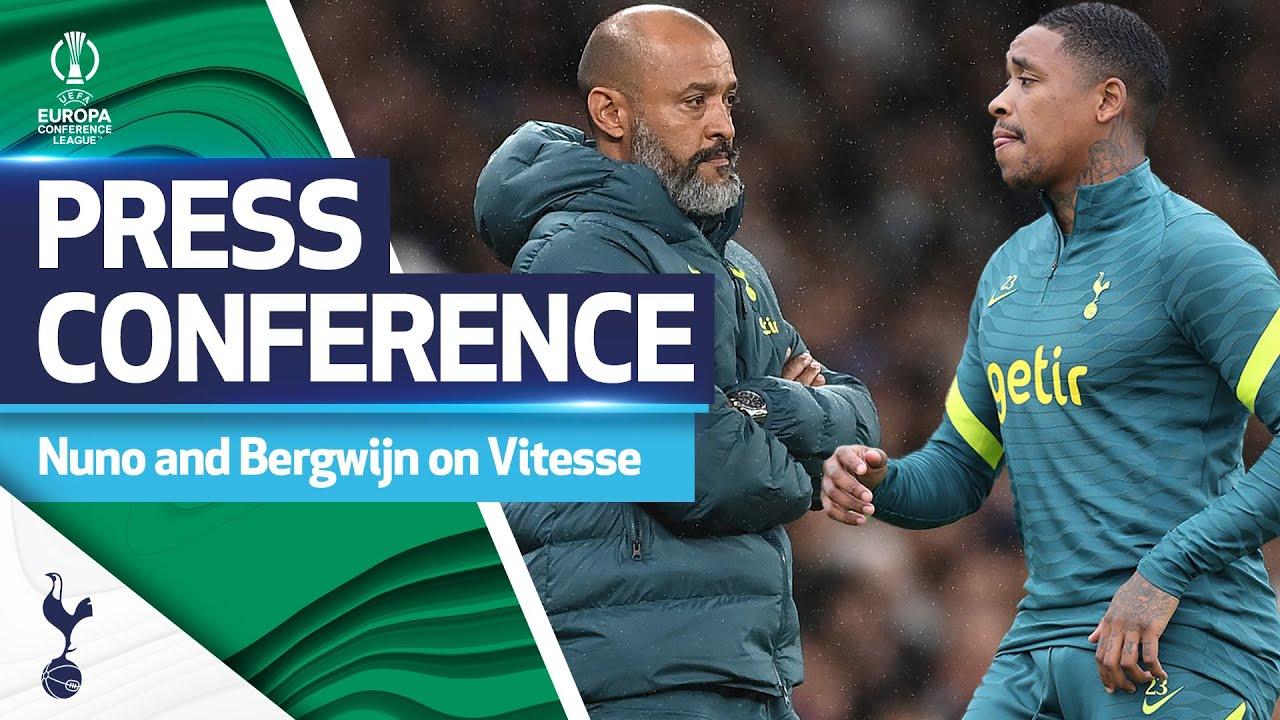 Nuno and Bergwijn's press conference ahead of Vitesse clash!