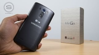 LG G3 Unboxing UK