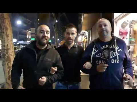 ARGENTINA: Sebastien, Pablo and Gustavo discovering gay Buenos Aires